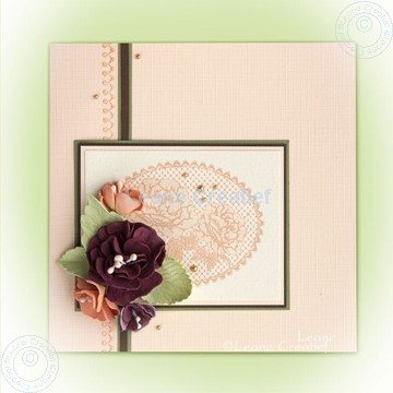 Image de Foam flowers & lace clearstamps