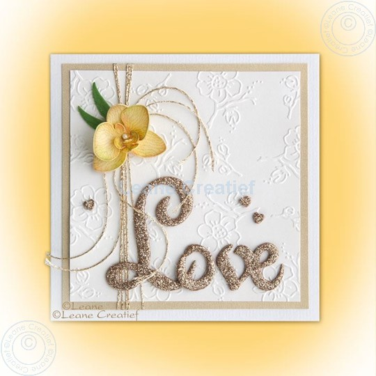 Picture of Combi stamp & Die Love