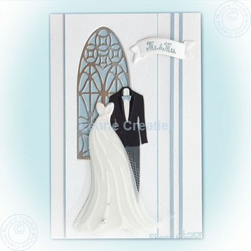 Bild von Dress & Suit and Churchwindow