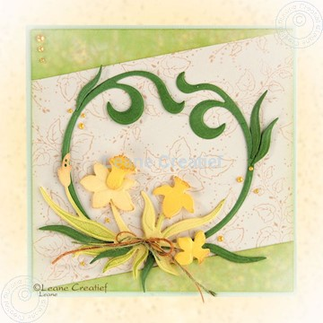 Picture of Daffodils & Swirls