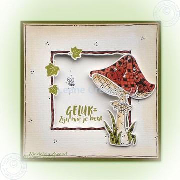 Bild von Doodle stamp Mushroom