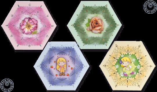 Afbeelding van Spirella® zeshoekkaarten