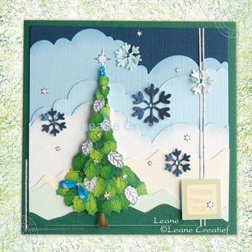 Picture of Christmas tree decoupage set