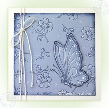 Picture of Doodle butterfly Stempel