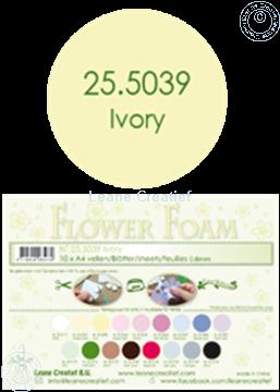 Afbeeldingen van Flower foam A4 sheet ivory