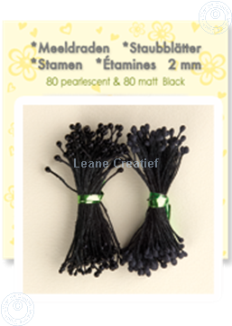 Picture of Stamen ± 80 matt & 80 pearl black