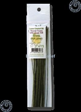 Bild von paper wrapped wire #28 dark green