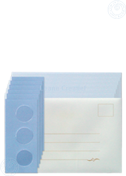 Picture of Card set Tri-O cards blue/dark blue