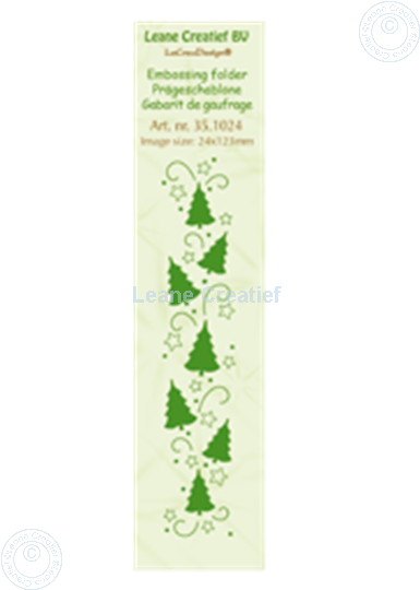 Image sur Border Christmas trees