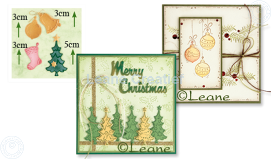 Picture of Christmas ornaments