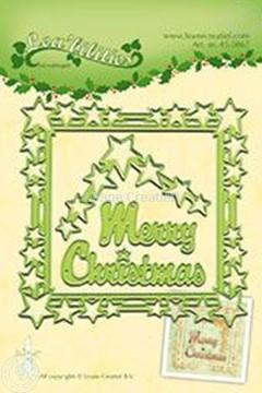 Afbeeldingen van Star Christmas frame
