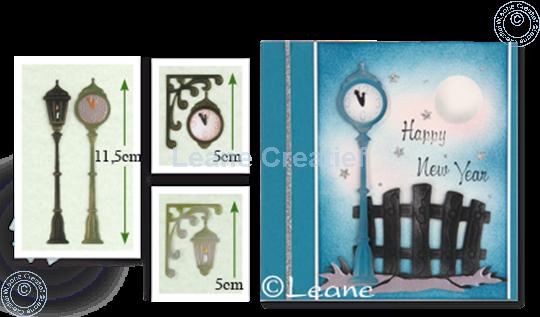 Afbeelding van Clock & Lantern