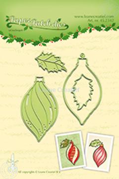 Afbeeldingen van Paper patch Christmas ornament