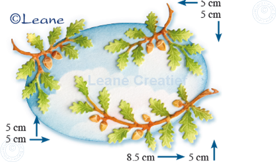 Image sur Lea'bilitie Branches with acorns