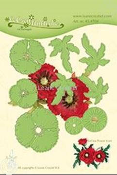 Afbeeldingen van Lea'bilitie Multi die Flower 013 Poppy