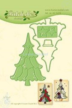 Picture of Lea'bilitie Patch die Christmas tree