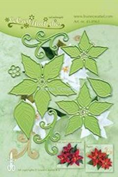 Image de Multi die flower 004 Ponsettia