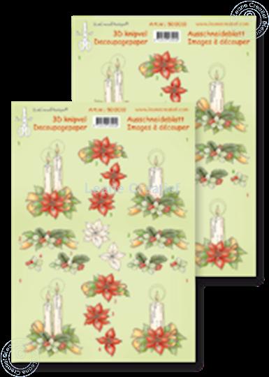 Afbeelding van Knipvel Christmas arrangement