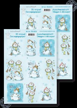 Afbeeldingen van Knipvel snowmen