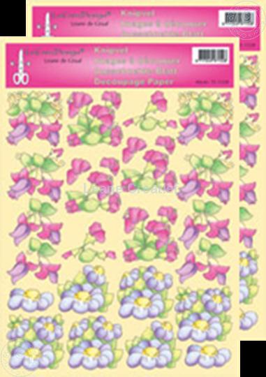 Afbeelding van LeCreaDesign® Bloemen knipvellen