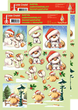 Picture of Decoupagepaper Mylo & Friends® Christmas #13
