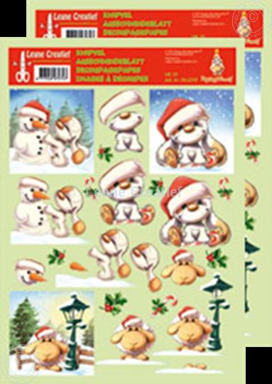 Afbeelding van Knipvel Mylo & Friends® Kerst #13