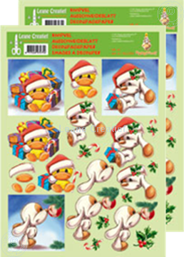Picture of Decoupagepaper Mylo & Friends® Christmas #14