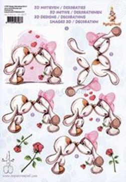 Afbeeldingen van Mylo & Friends® drieslag 3D knipvellen #4