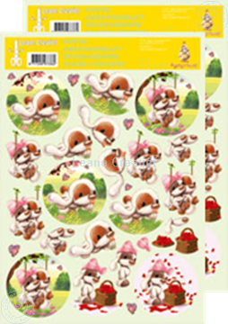 Picture of Decoupagepaper Mylo & Friends® #23