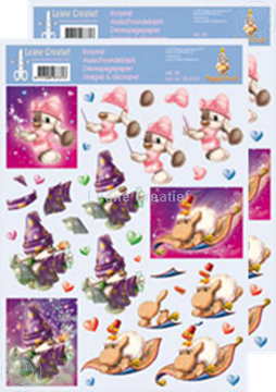 Picture of Decoupagepaper Mylo & Friends® #26