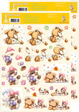 Picture of Decoupagepaper Mylo & Friends® #27
