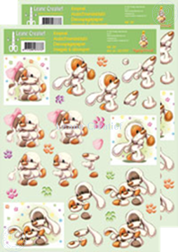 Picture of Decoupagepaper Mylo & Friends® #28