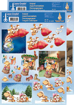 Picture of Decoupagepaper Mylo & Friends® Christmas #29