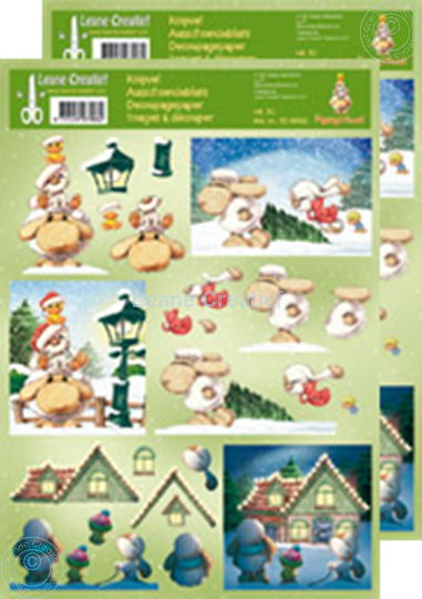 Picture of Decoupagepaper Mylo & Friends® Christmas #30