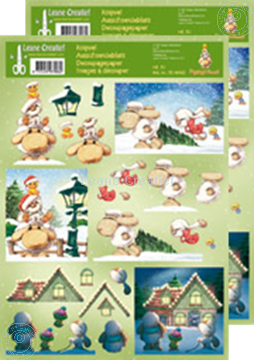 Afbeeldingen van Knipvel Mylo & Friends® Kerst #30