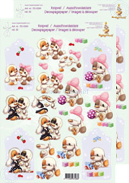 Picture of Decoupagepaper Mylo & Friends® #35