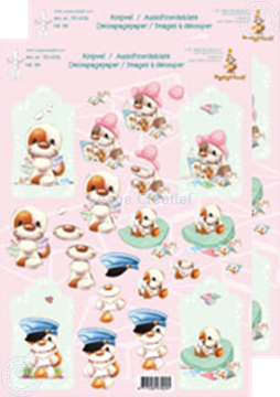 Picture of Decoupagepaper Mylo & Friends® #36