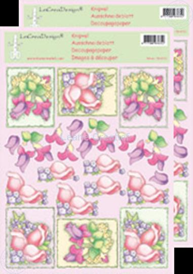 Image sur LeCreaDesign® Images 3D à découper des fleurs