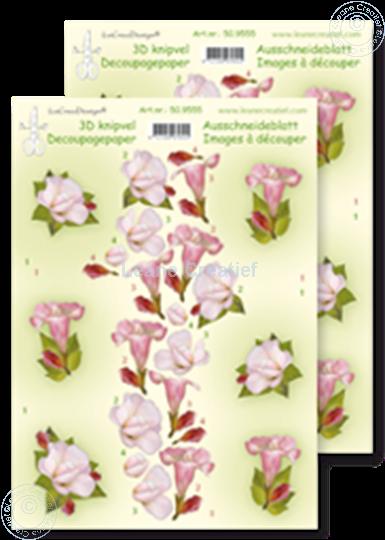 Afbeelding van LeCreaDesign® knipvellen bloemen