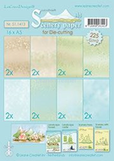 Image sur Scenery papers A5 225 grm