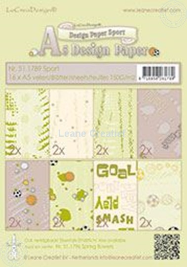 Bild von Design paper Sport