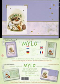 Image de Mylo & Friends® kit de cartes 3D pour communion