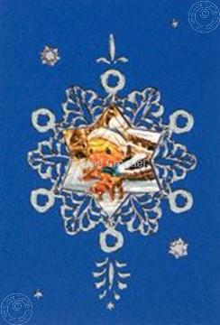 Bild von Mylo & Friends® Weihnachten Sticker Karten Bastelpackung Schneeflock #5
