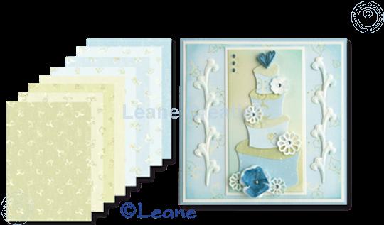 Image sur Feuilles décorées Swirls & Roses A5