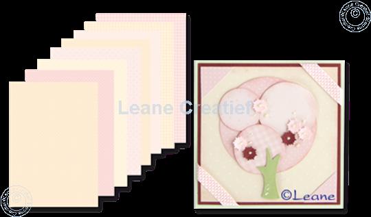 Image sur Feuilles décorées Pink & Ochre A5