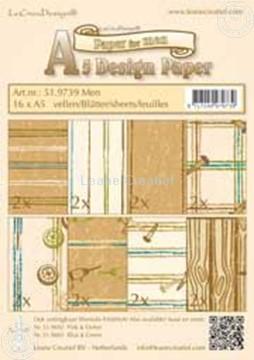 Afbeeldingen van Design papier Men A5