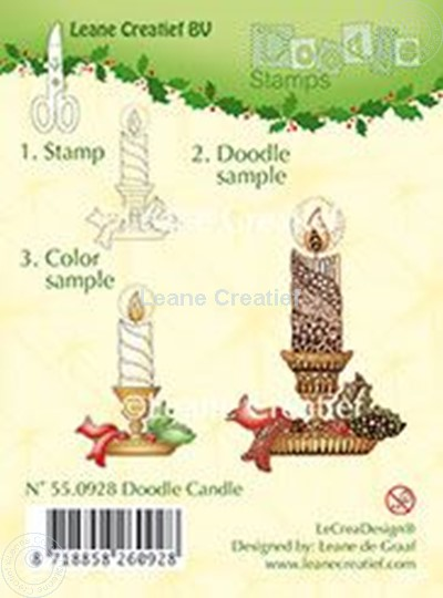 Picture of Doodle Candle
