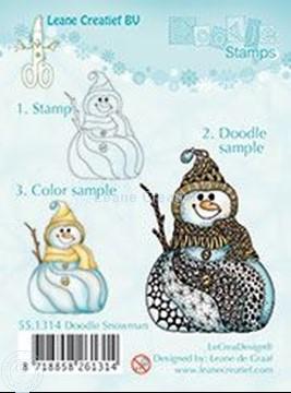 Afbeeldingen van Doodle Snowman