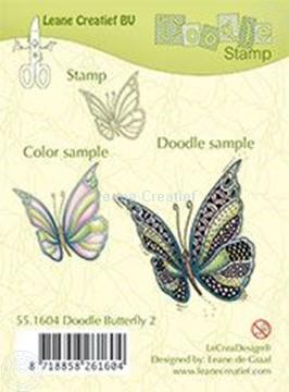 Afbeeldingen van Doodle Butterfly 2