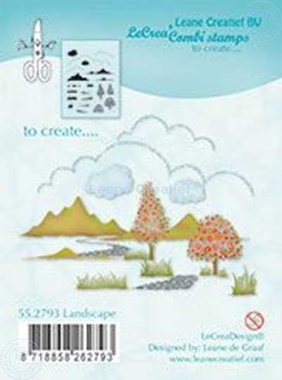 Picture of Combi stamp Landscape